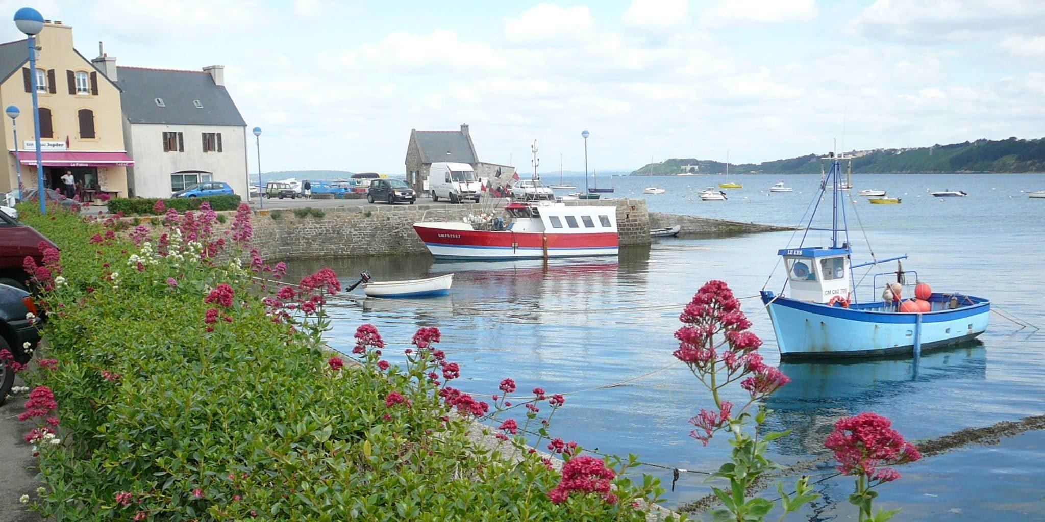 Le port du Fret en rade de Brest