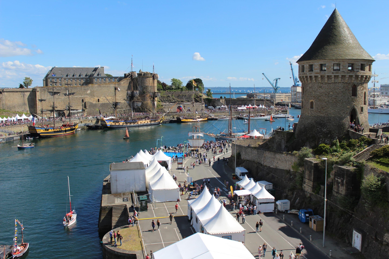 Chateau et Tour Tanguy à Brest